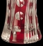 Red Floral Large Vase - Dale Tiffany - GA60834