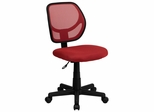 Red Mesh Computer Chair - WA-3074-RD-GG