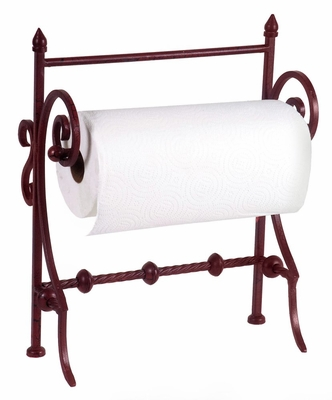 Red Paper Towel Holder - IMAX - 56005