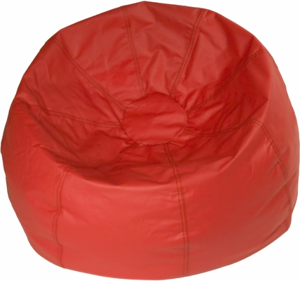 Red Round Bean Bag