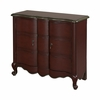 Red Scalloped 2 Door Chest - Powell Furniture - POWELL-384-697