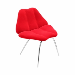 Red Smooch Chair - Lumisource