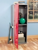 Red Storage Locker - Teen Trends - Powell Furniture - 517-127