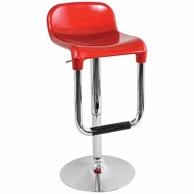 Red Taffy Barstool - LumiSource - BS-TAFFY-R