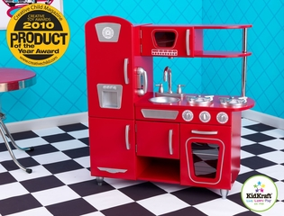 Red Vintage Kitchen - KidKraft Furniture - 53173