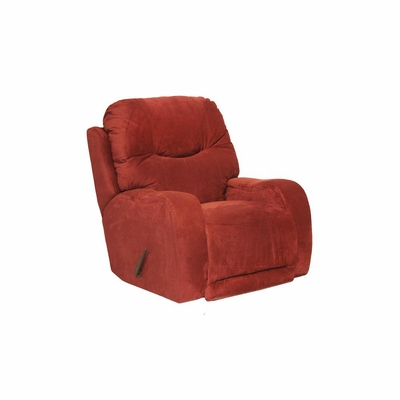 Reflections Chaise Rocker Recliner in Cayenne - Catnapper