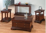 Regal Cherry 4PC Livingroom Table Set - 299-5