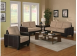 Regatta Contemporary 3-Piece Living Room Set - 500100