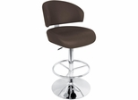 Regent Bar Stool Brown - Lumisource