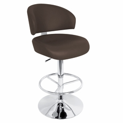 Regent Barstool Brown - LumiSource - HJ-REGENT-BR