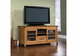 Registry Row Entertainment Credenza Amber Pine - Sauder Furniture - 412312