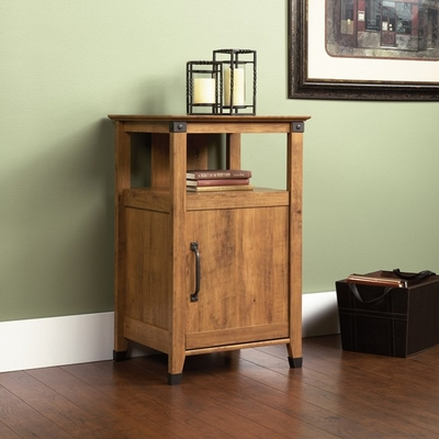 Registry Row Technology Pier Amber Pine - Sauder Furniture - 412375