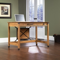 Registry Row Writing Desk Amber Pine - Sauder Furniture - 412477