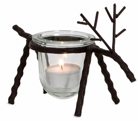 Reindeer Votive Holders (Set of 3) - IMAX - 58629-3