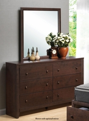 Remington Cherry Dresser with 6 Drawers - 202313