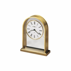Reminisce Brass Table Clock - Howard Miller