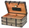 Renaissance Cigar Humidor - Reclaimed Aged Wood Finish - HUM-120RC