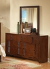 Resin Dresser with Mirror in Country Cherry - Coaster - 200753-54-SET