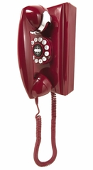Retro Phone - 302 Wall Phone - Red - Crosley - CR55-RE