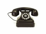 Retro Phone - Kettle Classic Desk Phone - Crosley - CR62-BK