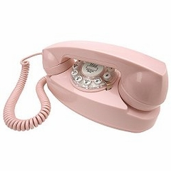 Retro Phone - Princess Phone - Pink - Crosley - CR59-PI