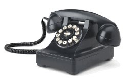 Retro Phone - The Crosley 302 Desk Phone - Black - Crosley - CR60-BK