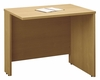 "Return Bridge 36"" - Series C Light Oak Collection - Bush Office Furniture - WC60318"