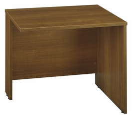 "Return Bridge 36"" - Series C Warm Oak Collection - Bush Office Furniture - WC67518"