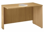 "Return Bridge 48"" - Series C Light Oak Collection - Bush Office Furniture - WC60324"