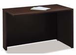 "Return Bridge 48"" - Series C Mocha Cherry Collection - Bush Office Furniture - WC12924"