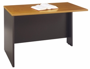 "Return Bridge 48"" - Series C Natural Cherry Collection - Bush Office Furniture - WC72424"