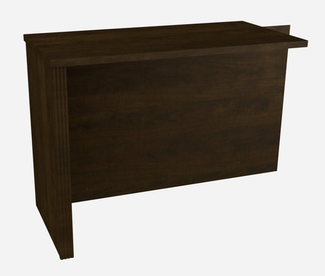 Return Table in Chocolate - Prestige Plus - Bestar Office Furniture - 99810-69