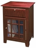 Richmond Entertainment Center Cabinet in Cherry - Crosley - ST73-CH