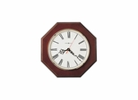 Ridgewood Wall Clock in Cherry - Howard Miller