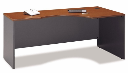 Right Corner Module - Series C Auburn Maple Collection - Bush Office Furniture - WC48523