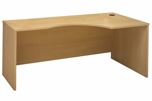 Right Corner Module - Series C Light Oak Collection - Bush Office Furniture - WC60323