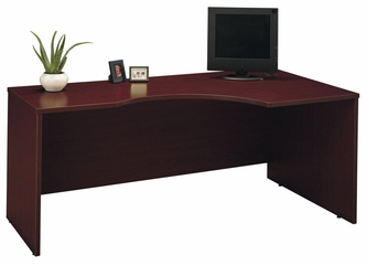 Right Corner Module - Series C Mahogany Collection - Bush Office Furniture - WC36723