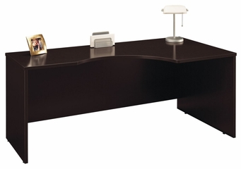 Right Corner Module - Series C Mocha Cherry Collection - Bush Office Furniture - WC12923