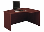 Right L-Bow Desk - Series C Mahogany Collection - Bush Office Furniture - WC36722