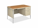 Right Pedestal Desk - Harvest - HON88251RCL