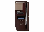 Right Storage Tower - Quantum Harvest Cherry Collection - Bush Office Furniture - QT2826CSK