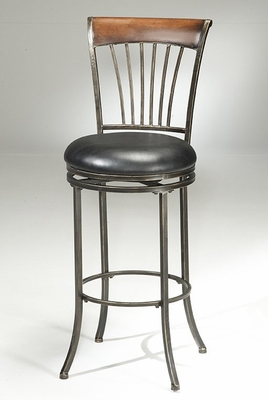 Riley Wood/Metal Bar Stool - Hillsdale Furniture - 4995-830