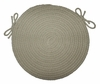 "Rio Mist 15"" Braided Chair Pad - Rhody Rug - RI-5715CPMI"