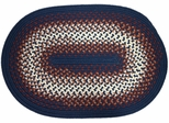 Rio Navy 3'x5' Braided Rug - Rhody Rug - RI-1735NV