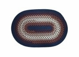 Rio Navy Braided Rugs - Rhody Rug