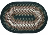 Rio Spruce Green 4'x6' Braided Rug - Rhody Rug - RI-2746SP