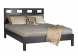Riva Full Size Platform Bed - Nevis Espresso - Modus Furniture - RV23F4