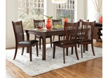 Rivera 7PC Casual Dining Set in Merlot - 103641