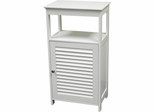 RiverRidge Home White Ellsworth Single Door Floor Cabinet