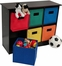RiverRidge  Kids Espresso 6 Bin Storage Cabinet